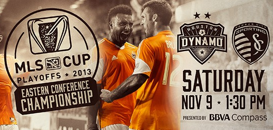 Dynamo WIN!  Next Playoff Game Saturday November 9th